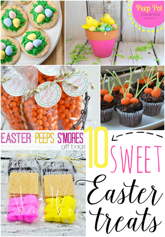 10 Sweet Easter Treats at GingerSnapCrafts.com #Easter #sweettreats [6]