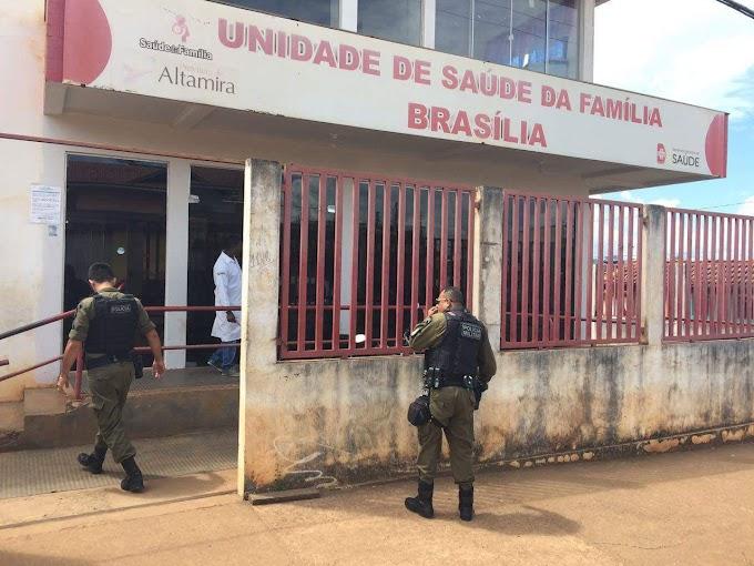 Altamira: Jovem busca atendimento médico depois de ser baleado