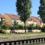 Canal de l'Ourcq : pavillons