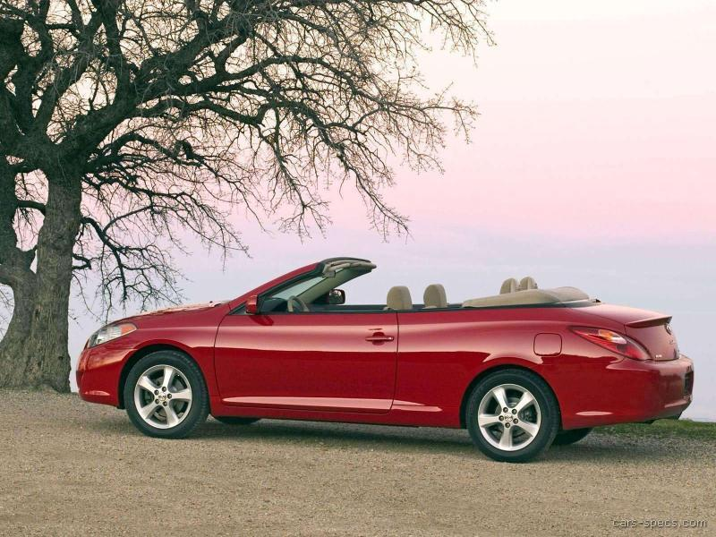 2005 toyota camry solara convertible specifications. Black Bedroom Furniture Sets. Home Design Ideas