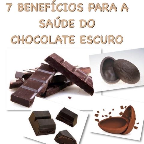 7 Benefícios Para a Saúde do Chocolate Escuro