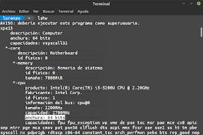 Live usb de linux en linux. 64 bits.