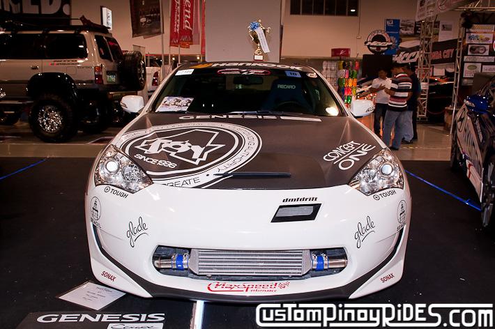 Hyundai Genesis Coupe Body Kit Designs by Atoy Customs 2012 Manila Auto Salon Custom Pinoy Rides pic37