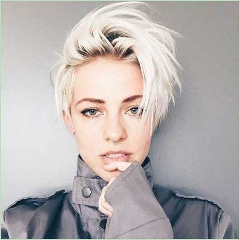 Blonde Pixie Frisuren Trends 2017 Styles Art