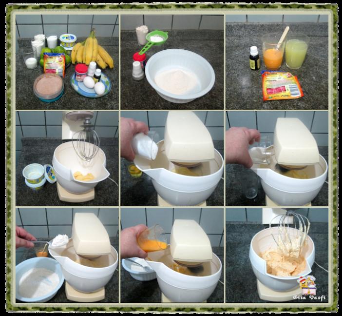 Bolo de banana e limão 3