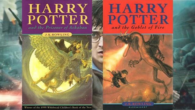 Hoje os livros de Harry Potter e Prisioneiro de Azkaban & Harry Potter e o Cálice de Fogo completam mais um ano desde o seu lançamento