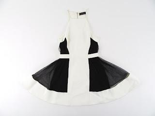 David Koma Spaghetti Strap Dress