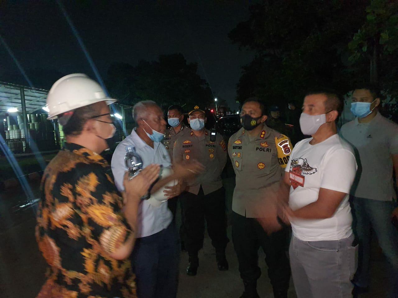 Kapolda Banten cek Lokasi Kebakaran,  Kami Selidiki Penyebab Kebakaran