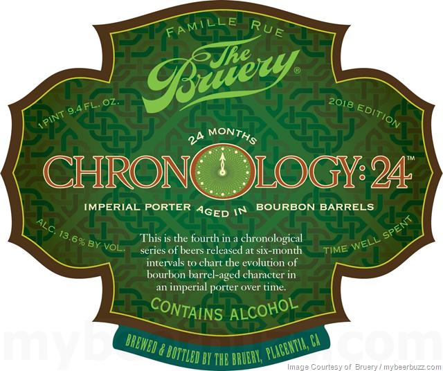 The Bruery - Chronology: 24 2018 Edition