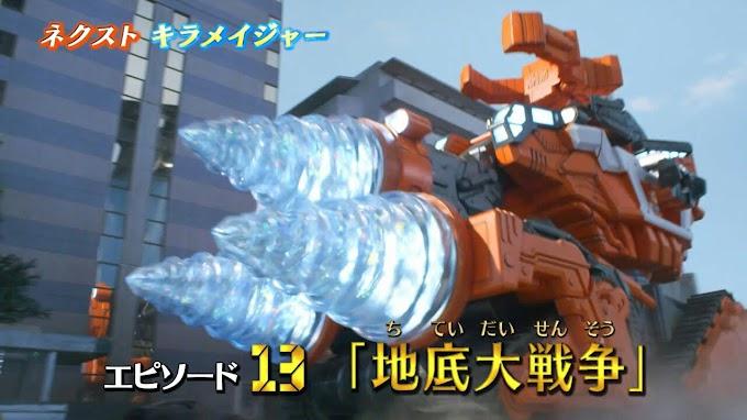Spoiler Mashin Sentai Kiramager Episode 13