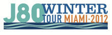J/80 Winter sailing tour miami, florida