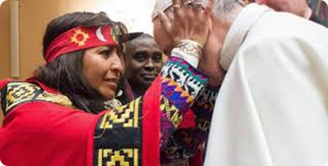 "Papa Francesco ai Mapuche: ""non esistono culture superiori o inferiori"""