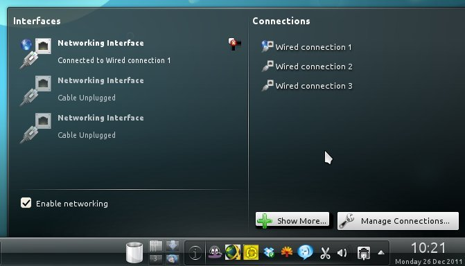 Closing Windows 4: Kubuntu network settings