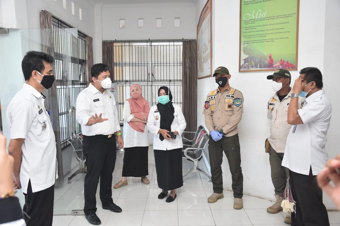 Tim Pemkab Gowa Kembali Lakukan Sidak Pastikan ASN Patuhi Aturan Wajib Pakai Masker