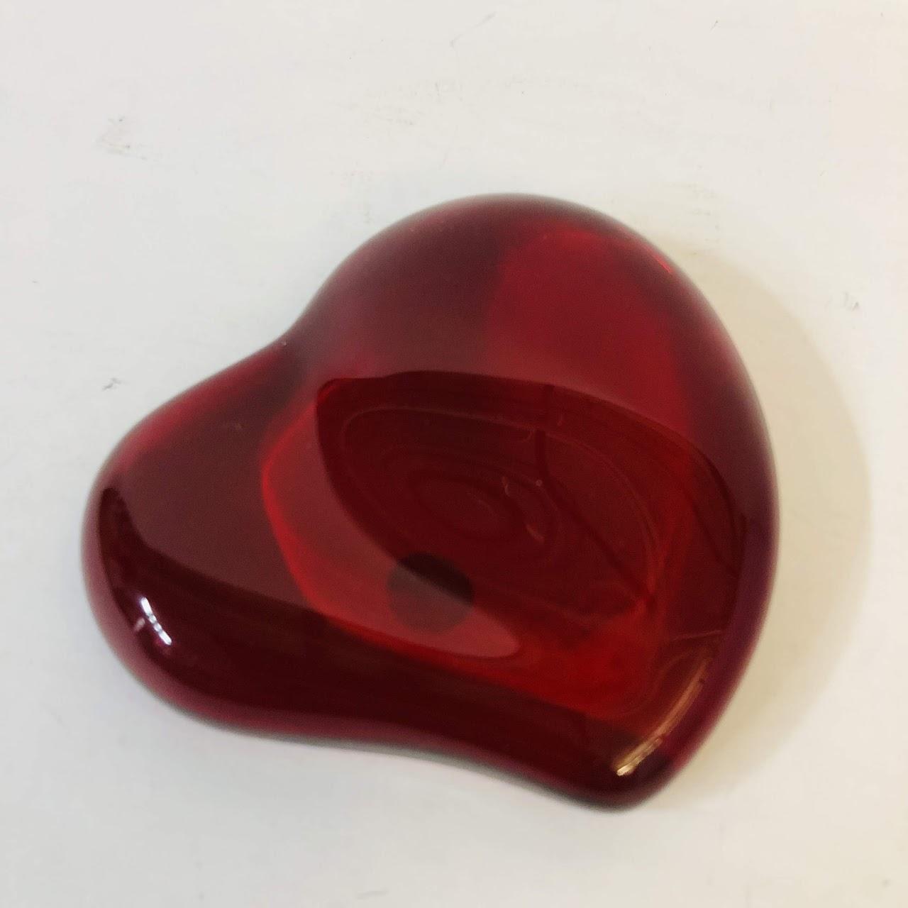 d40ca09f59d0 Tiffany & Co. X Elsa Peretti Heart Paperweight | Shophousingworks
