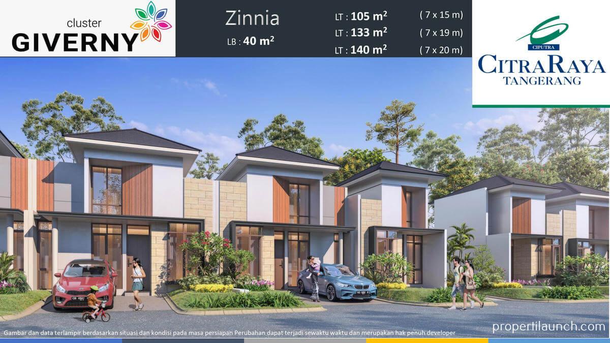 Rumah Giverny Citra Raya Tipe LB 40m2