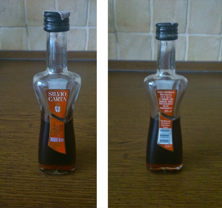 Сувенирная бутылочка Митро