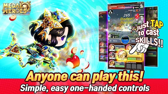 Medal Heroes : Return of the Summoners Mod Apk Download For Android and Iphone 2