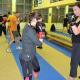 trénink kickaerobic 2013