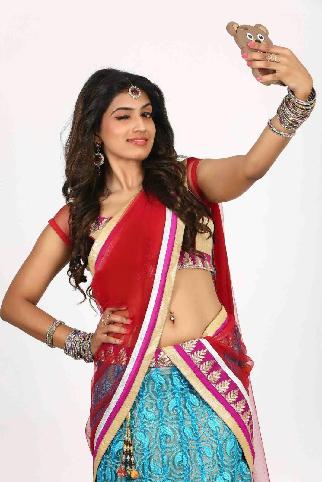 Telugu tv stars hot navel show