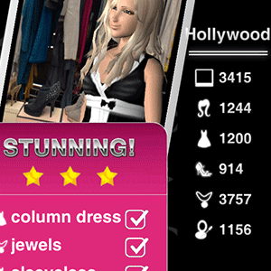 Style Me Girl Level 21 - Hollywood - Lyan Li - Stunning! Three Stars