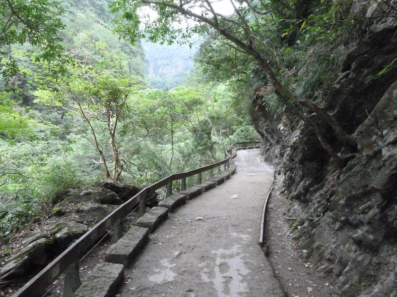 sentier à proximité des gorges de Taroko