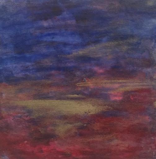 Autumn's Golden Light. Artist Kim Rodeffer Funk. Experiences: An Online Gallery Show of Small Paintings