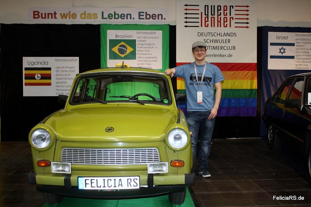 Günter und ich auf der Techno Classica 2014 in Essen