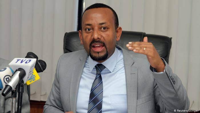 Ethiopia Prime Minister Abiy Ahmed. PHOTO | DW