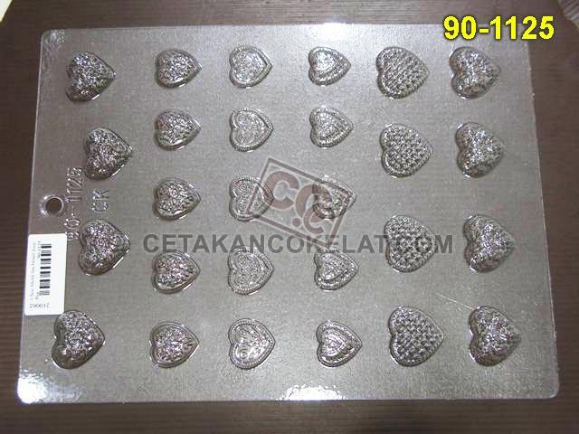 Cetakan Coklat 90-1125 cokelat praline love