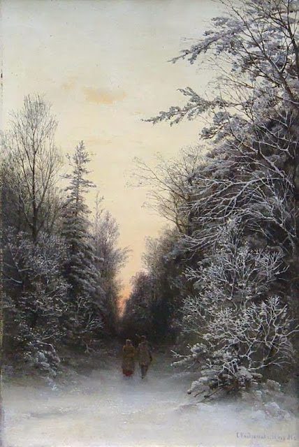 Gavril Kondratenko - Forest in winter