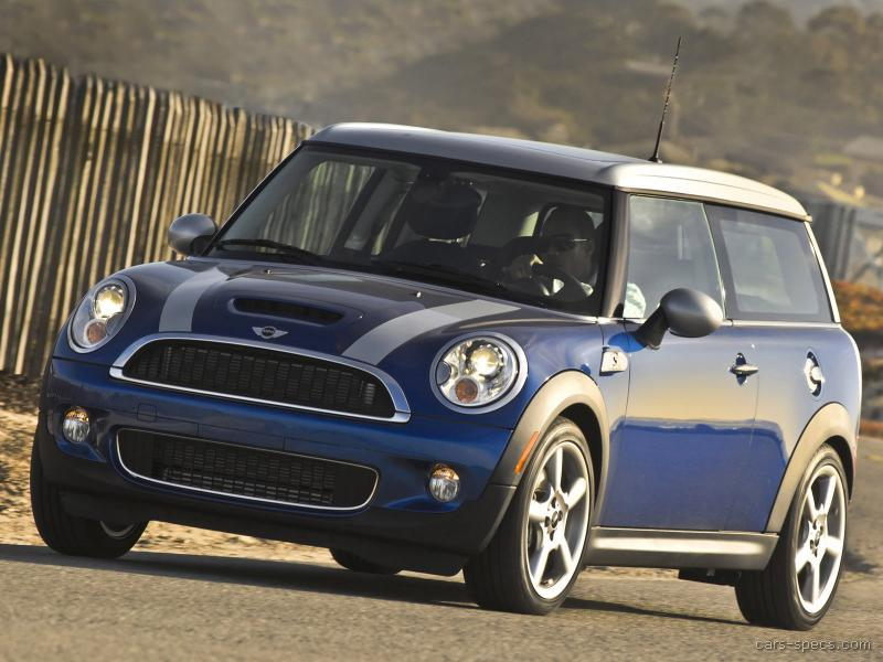2008 mini cooper clubman hatchback specifications pictures prices. Black Bedroom Furniture Sets. Home Design Ideas