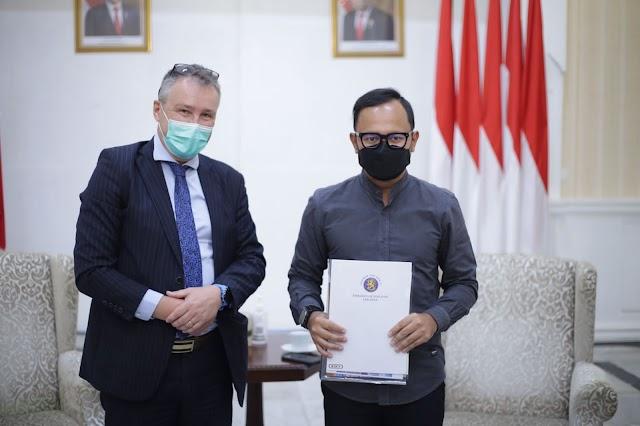 Dubes Finlandia Kunjungi Balai Kota Bogor, Bahas Smart City hingga Berbagi Resep Bahagia