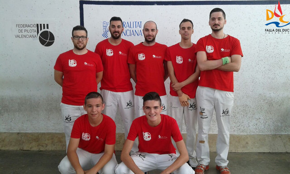 Segunda jornada del Campeonato de Pelota Valenciana