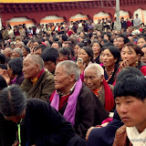 Massive religious gathering and enthronement of Dalai Lama's portrait in Lithang, Tibet. - l64.JPG