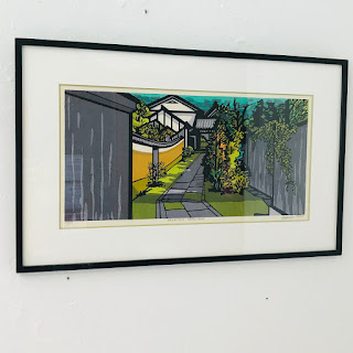 Clifton Karhu Signed Woodblock Print