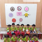 Circle Day Celebration by Playgroup Afternoon Section at Witty World, Chikoowadi (2018 - 19)