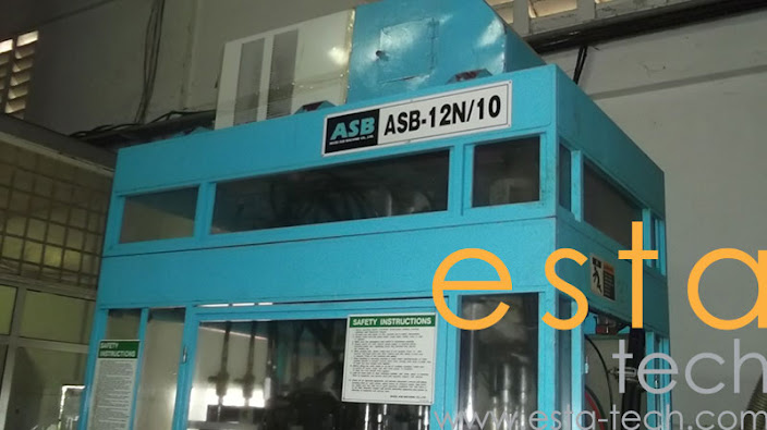 Nissei ASB-12N/10 (2002) Stretch Blow Moulding Machine