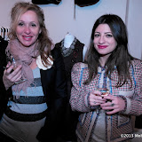 WWW.ENTSIMAGES.COM -   sharon Ozbek Owner of frockDrop and and Sara -Ella Ozbek  Model agent at NEXT Models at      FrockDrop.com pop-up launch party  at 68 Sclater Street, London  March 11th 2013                                                  Photo Mobis Photos/OIC 0203 174 1069