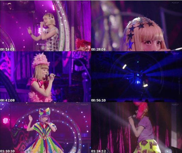 [TV-Variety] きゃりーぱみゅぱみゅ JAPAN HALL TOUR「Crazy Party Night 2015」 (WOWOW Prime 2016.01.30)