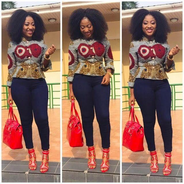 ultra ankara tops style for women 2018