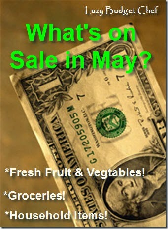 what to buy in May on sale to save money
