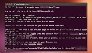 GMVault in Ubuntu Linux