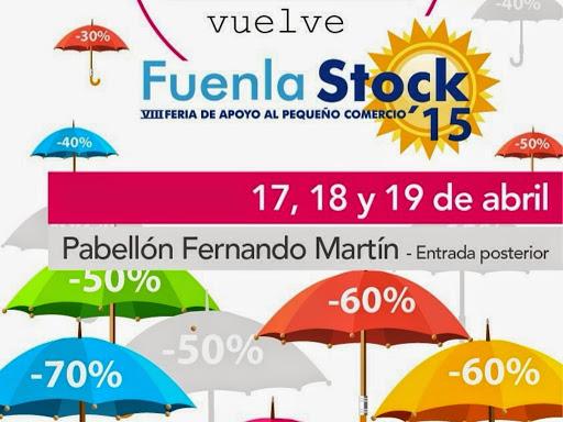Los días 17, 18 y 19 de abril se celebra en el Pabellón Fernando Martín una nueva edición de Fuenlastock, la Feria del Pequeño Comercio de Fuenlabrada, que tiene como objetivo promocionar los establecimientos de la ciudad.