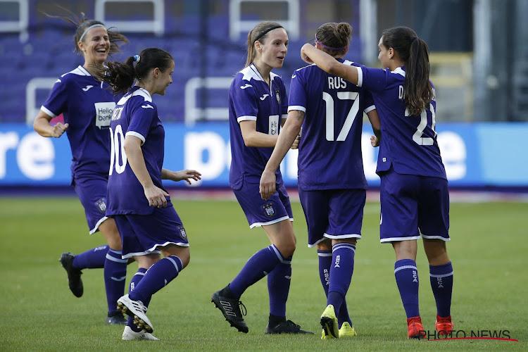 Les Ladies d'Anderlecht se qualifient pour le prochain tour en Ligue des Champions !