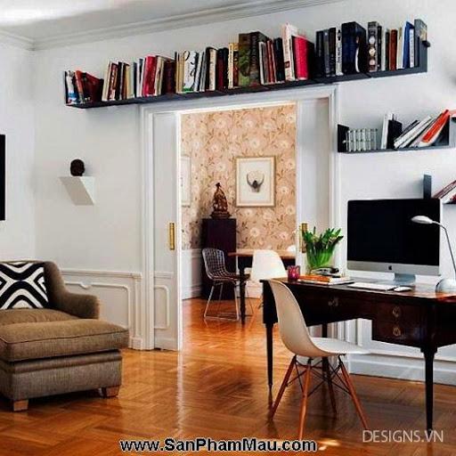 Các mẫu thiết kế nội thất phòng đọc sách P1-9