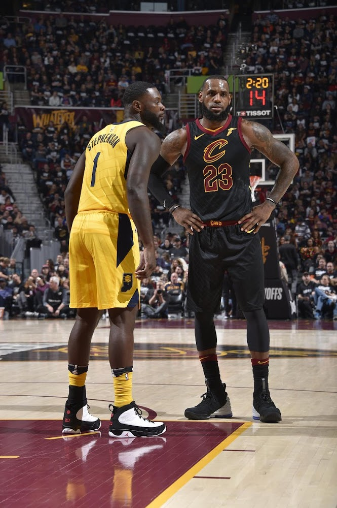 ... LeBron James Debuts Shox BB4 Inspired LeBron Watch 15s in Game 1 Loss  ... c7e5f8bf9