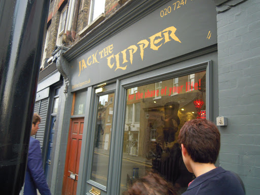 Jack the Clipper. From the Jack the Ripper walking tour, one of the best walking tours in London