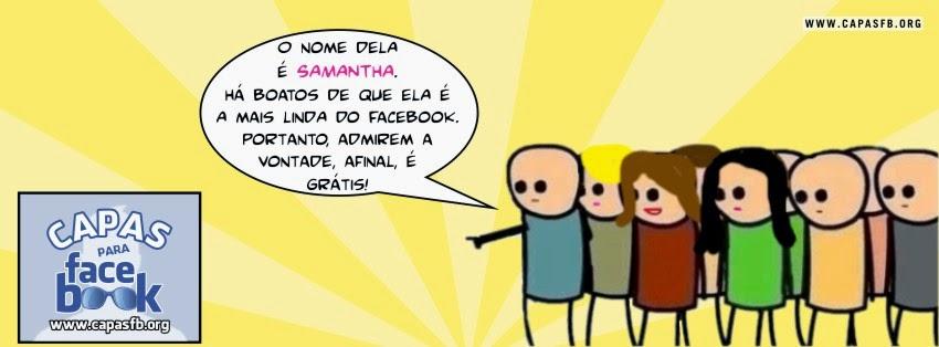 Capas para Facebook Samantha