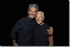 GIORGIO ARMANI AND FIORELLO - SGP